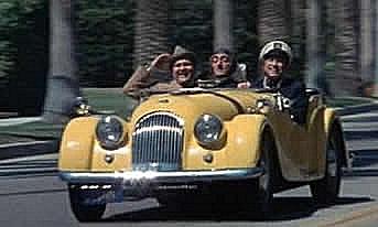 photo of Mel Brooks  - car